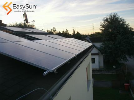 fotovoltaika šindel