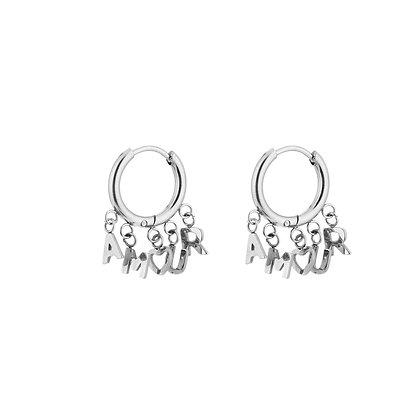 Amour Earrings Silver
