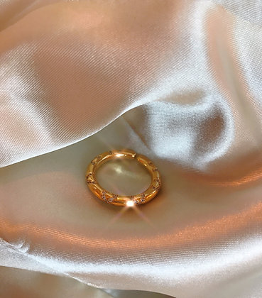 Round Strass Ring