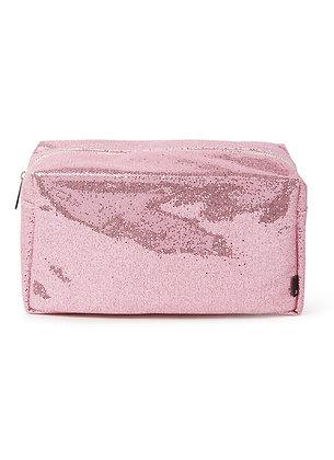 Glitter Toilettas Pink