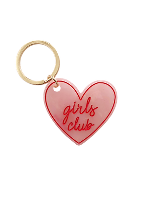 Girls Club Keychain