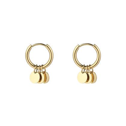 Dots Earring Gold