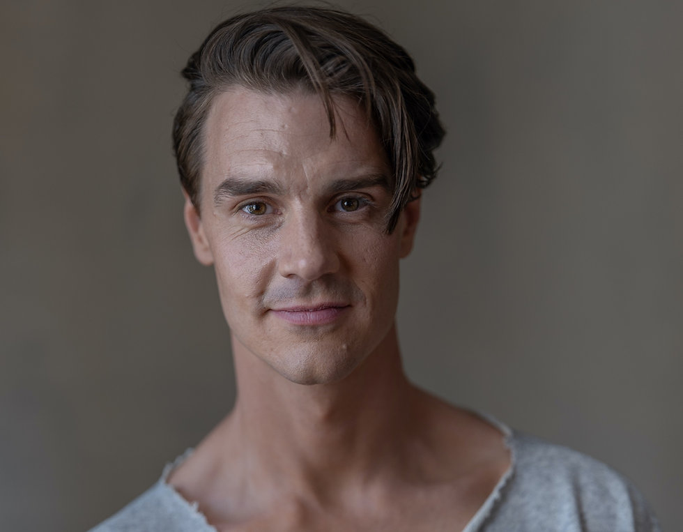 Actor Johannes Stenmarck