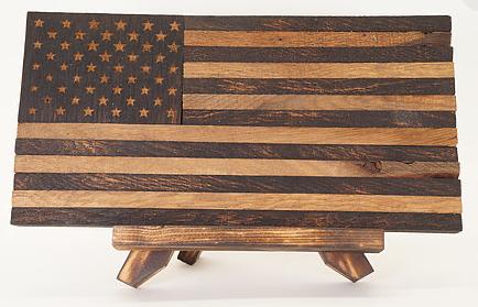 Small Historic Oak Flag