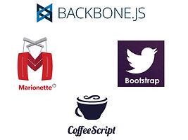 Backbones, marionette coffeescript, bootstrap