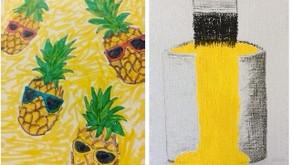Sketch Club (Week 42) - Something yellow