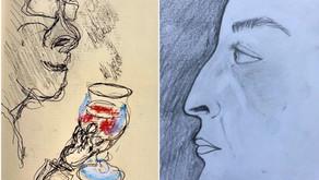 Sketch Club (Week 44) - My nose