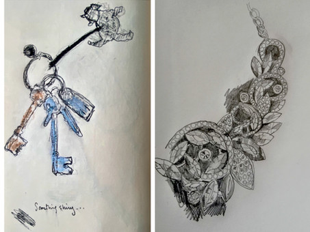 Sketch Club (Week 45) - Something Shiny