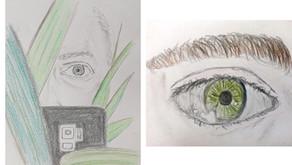 Sketch Club (Week 37) - My right eye