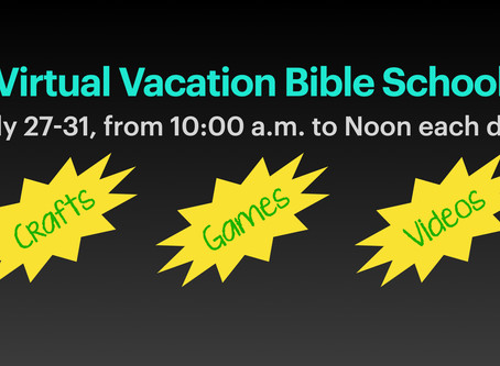 Virtual Vacation Bible School