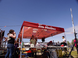 Timing tent
