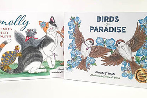 Two  children's picture books by Pamela Wight