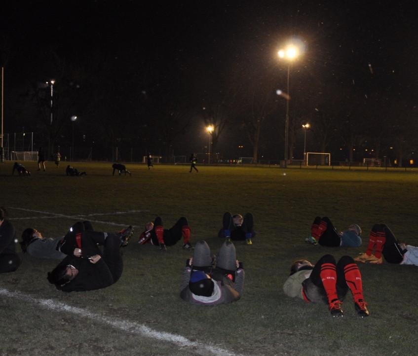 Alba Ladies, entraînement