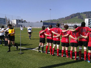 RC Zug – Albaladejo Rugby Club Lausanne 48 – 12 (mi-temps 17-12)