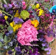 buckets of blooms