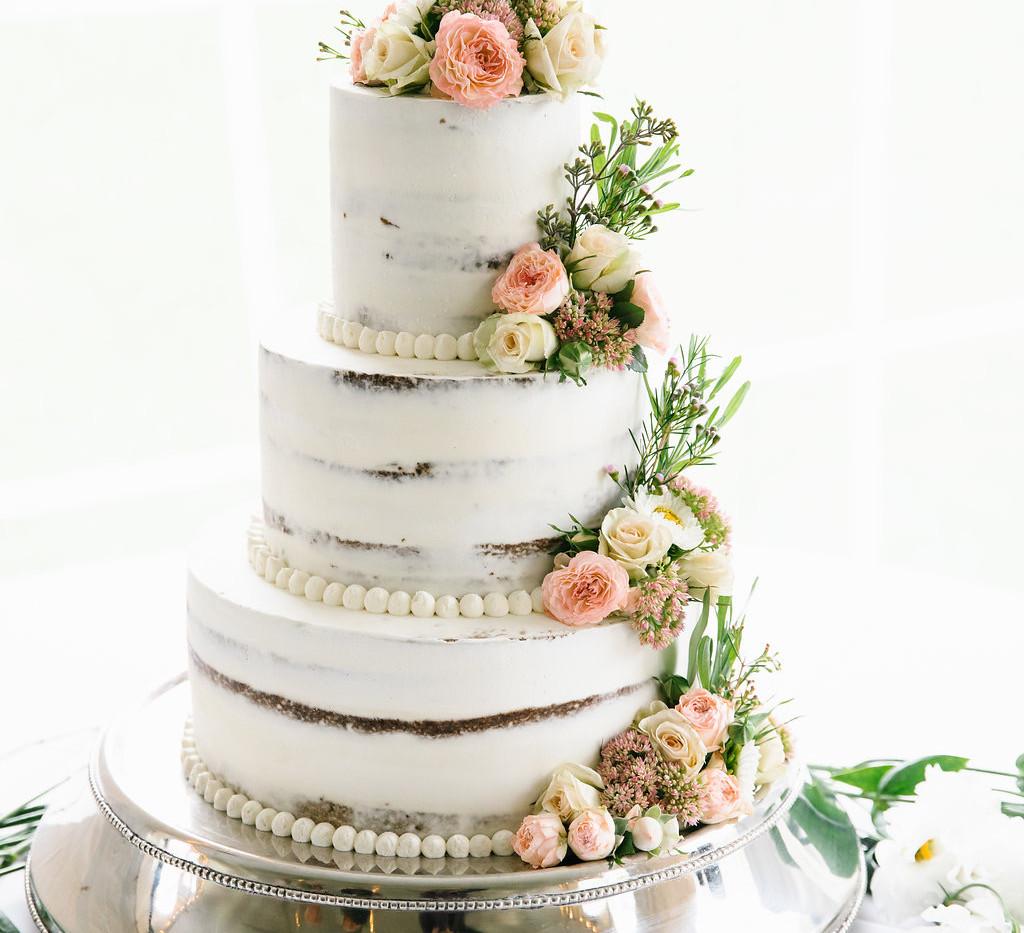 cake floral decor