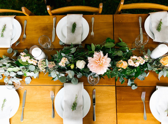 garlands for table decor