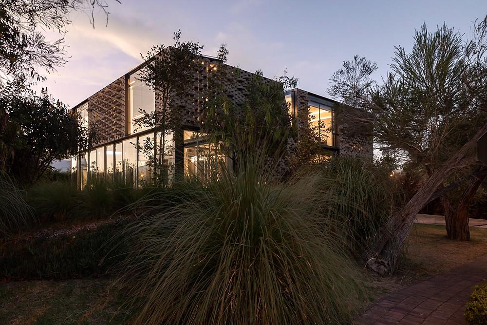 Integración de la vegetación en la arquitectura