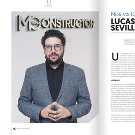 Mundo Constructor, Edición #39, presentando Lucas Correa Sevilla