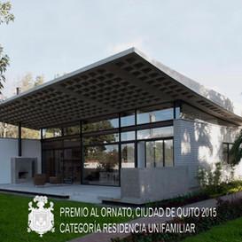 Premio al Ornato, Ciudad de Quito 2015