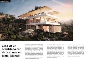 BR Magazine, Edición 73, presentando nuestra Casa en un acantilado.