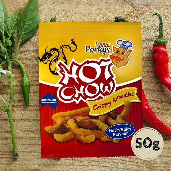 Pork Crackle - Hot Chow - 50g x 18 Packs