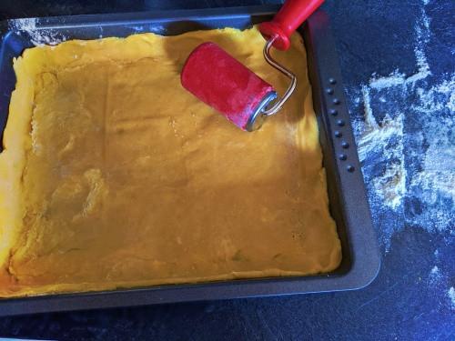 dough for aspargues tarte