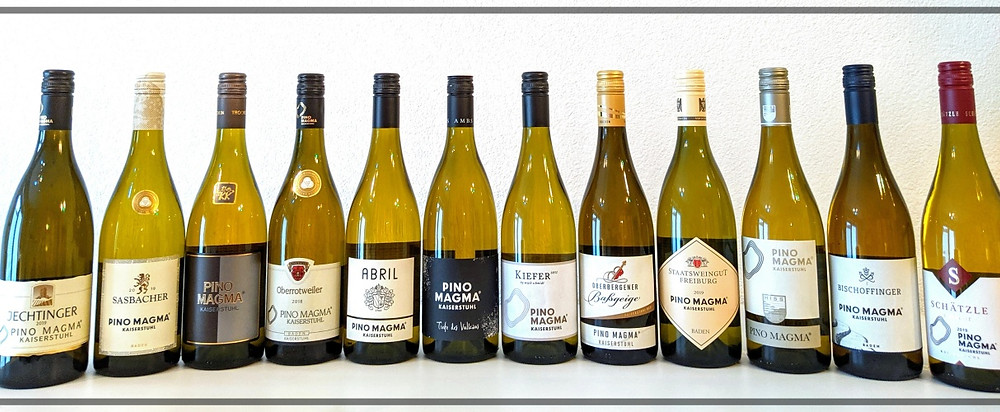 Varieties of Pino Magma from the Kaiserstuhl