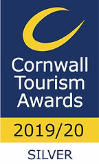 Cornwall Tourism Awards SILVER 2019 - 20