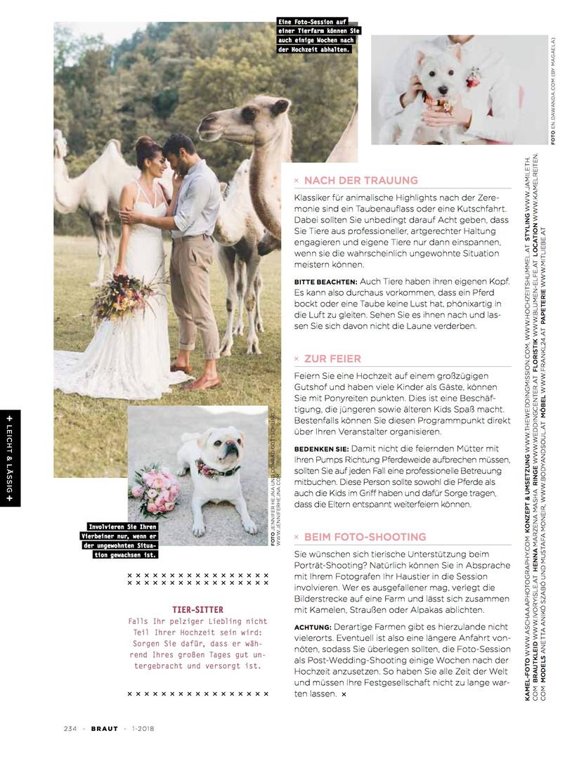 Magazin Braut-Shooting