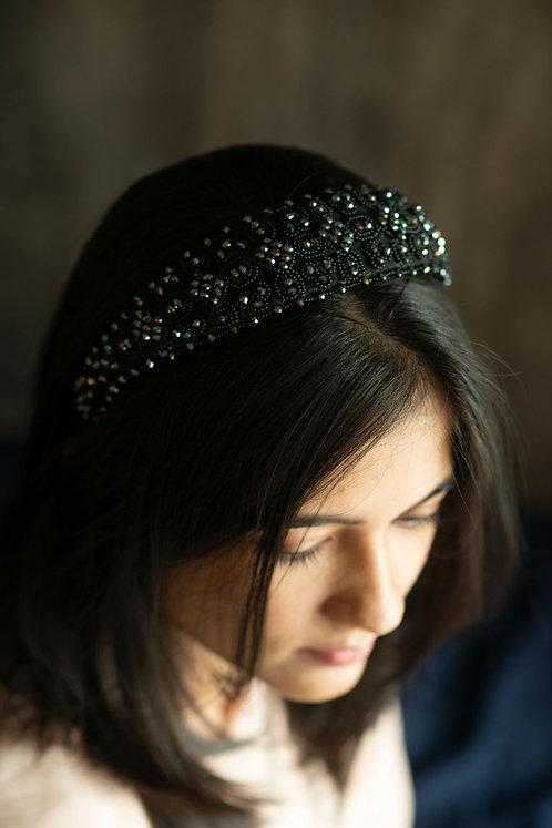 Golden Diva Beaded Headband