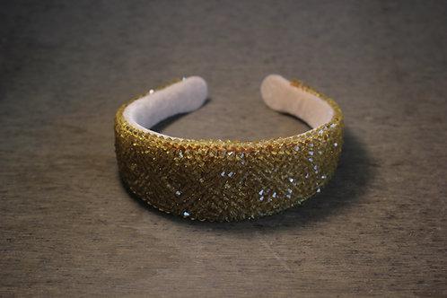 Ivory Satin Headband
