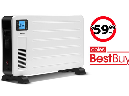 2300W Convection Heater on sale at Coles Best Buys