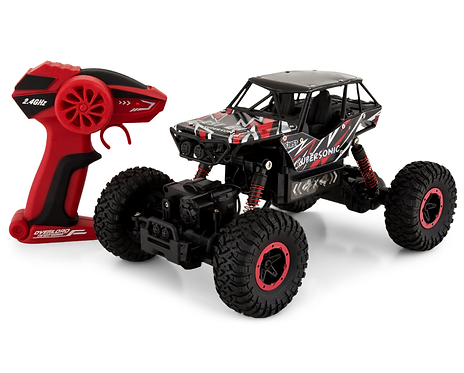 4wd Rock Crawler Remote Control - Red