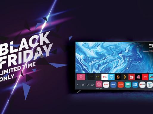 "Black Friday Sale! Limited Time  EKO 75"" Ultra HD Smart webOS TV"