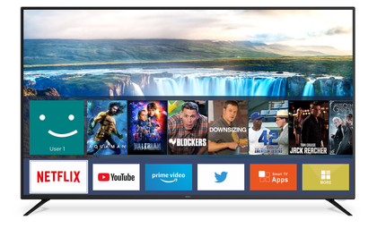 """65"""" 4K Ultra HD Smart TV"""