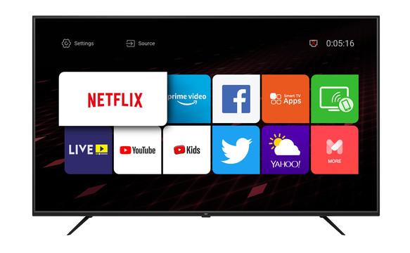 """50"""" 4K Ultra HD Smart TV"""