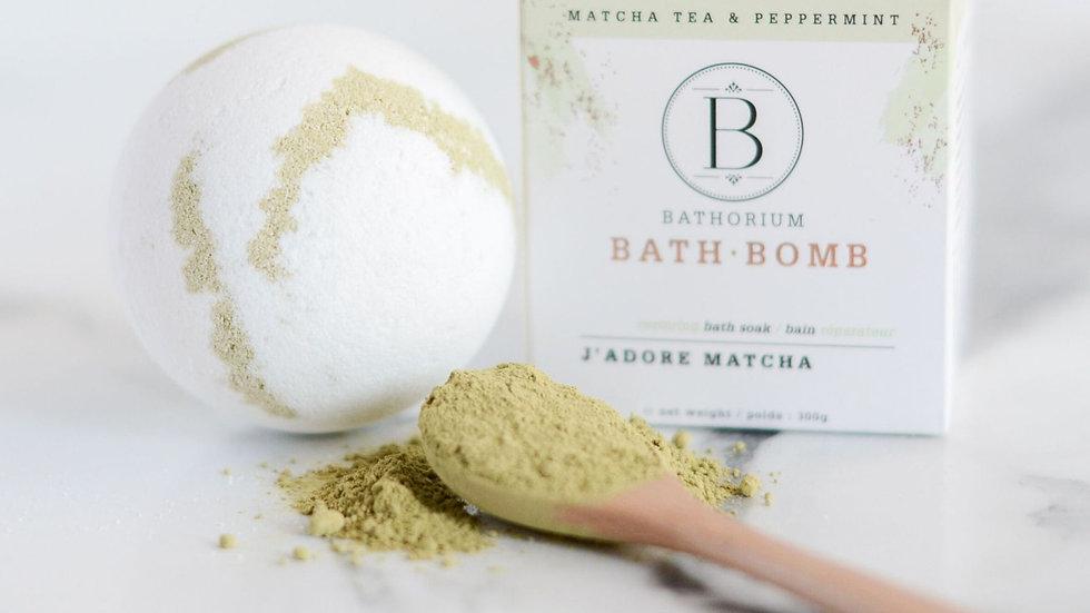 Bath Bomb - J'adore Matcha