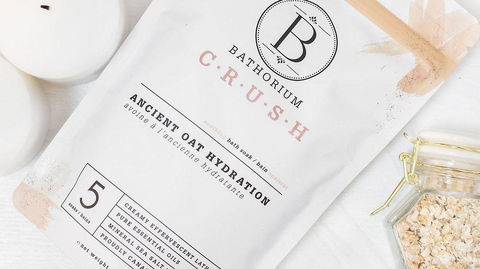 CRUSH Bath Soak - Ancient Oat Hydration