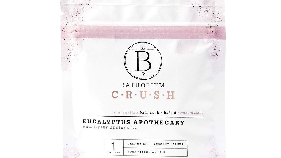 CRUSH Bath Soak - Eucalyptus Apothecary