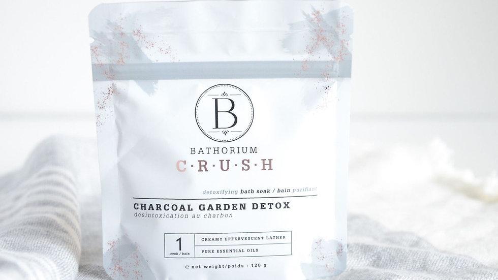 CRUSH Bath Soak - Charcoal Garden Detox