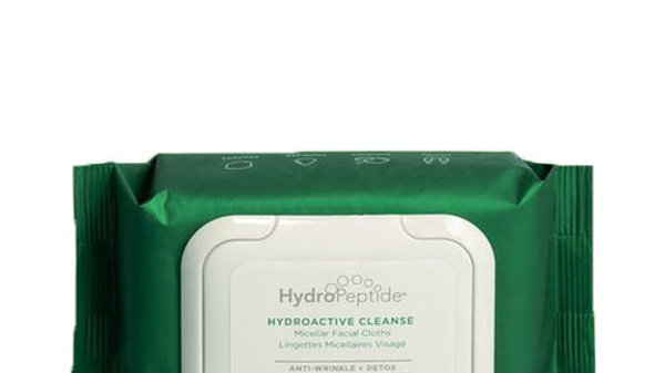 HydroPeptide HydraActive Facial Cleansing Wipes - 30 wipes