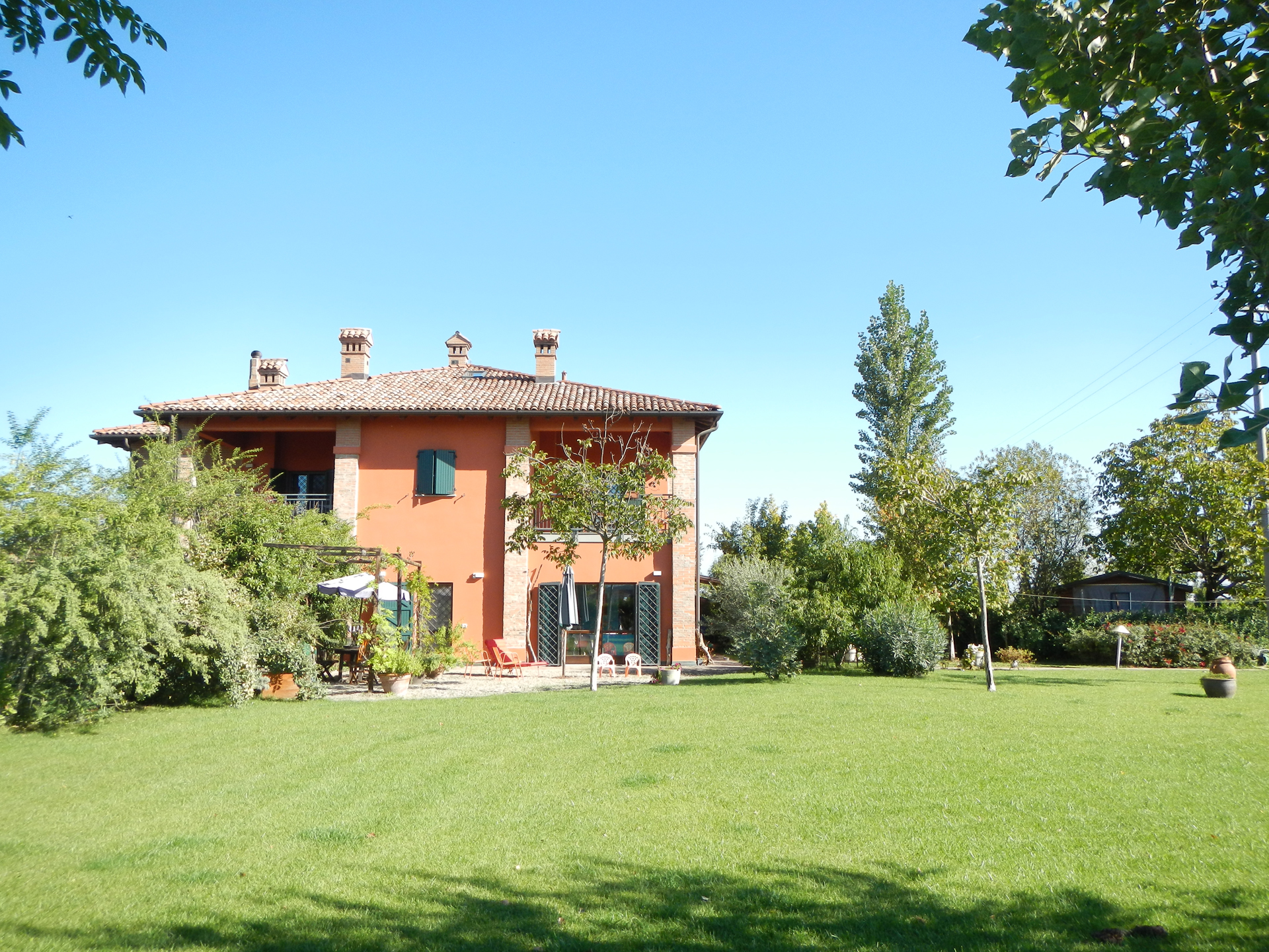 bed and breakfast bologna da giardino