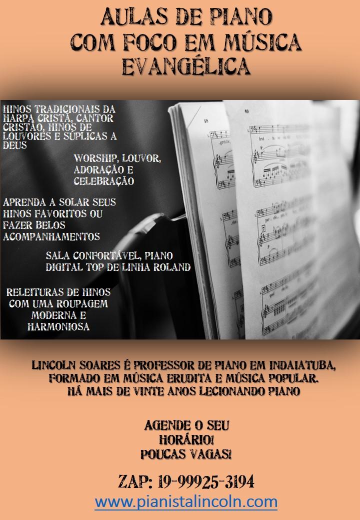 Curso de Piano Lincoln Soares