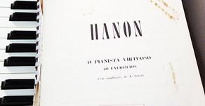 Livros de Técnicas de Piano - O Hanon