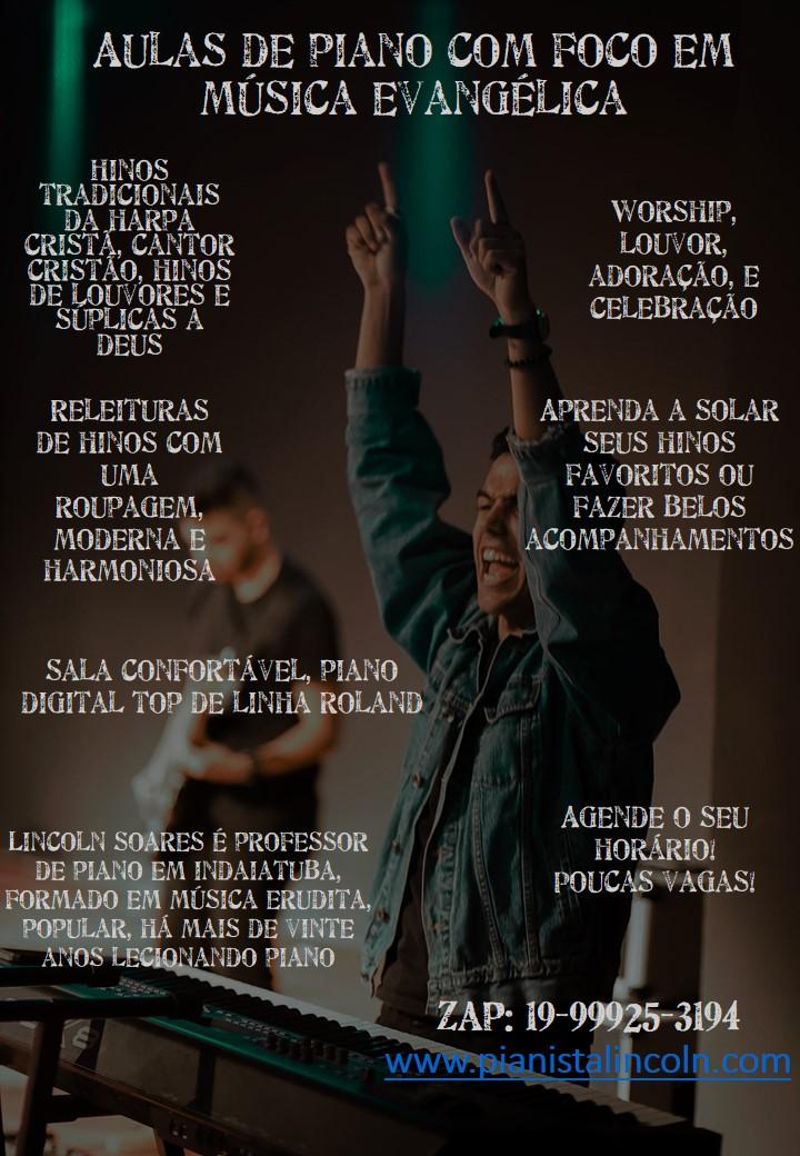 Curso de Piano Lincoln Soares - Gospel