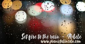 Pianocover - Set fire to the Rain - Adele