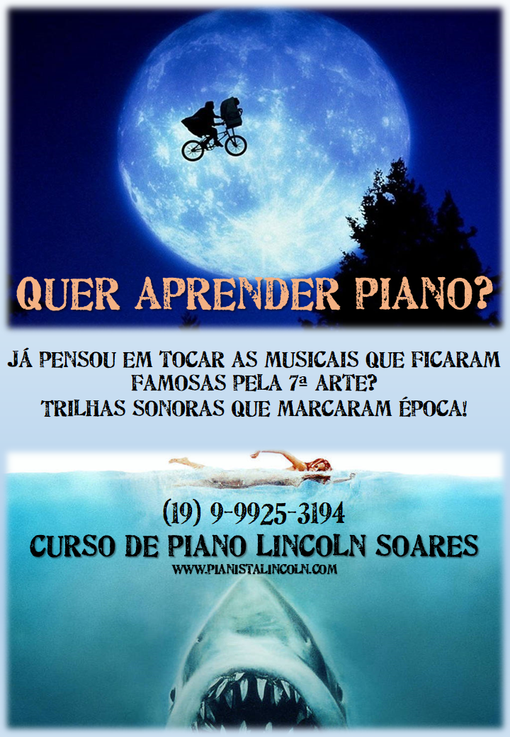 Curso de Piano Popular Lincoln Soares