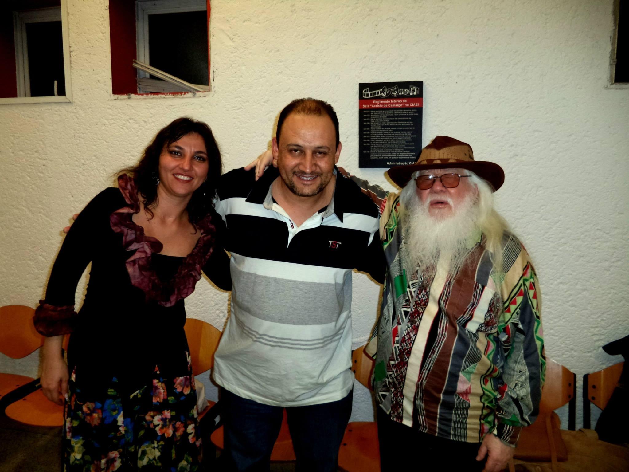 Lincoln, Hermeto e Aline Moreira