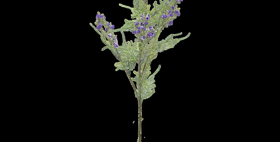 Ramo de flores silvestres color violeta 80cm